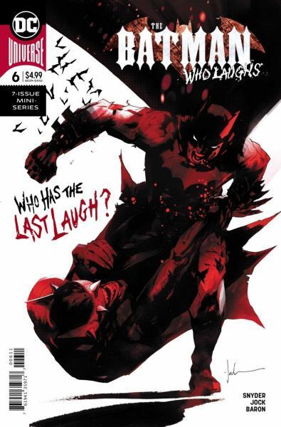 The Batman Who Laughs 6 The Laughing House, Part 6