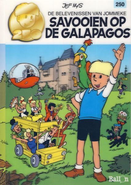 Jommeke 250 Savooien op de Galapagos