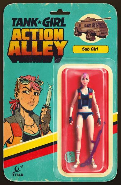 Tank Girl: Action Alley 4 Issue #4