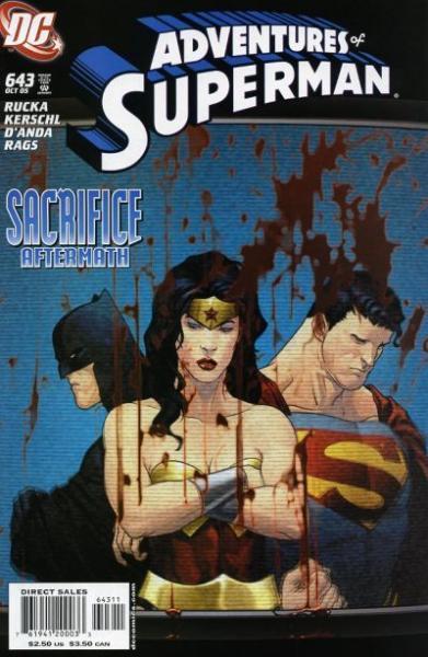superman temp - te verplaatsen naar hoofdreeks 643 Fragmentation
