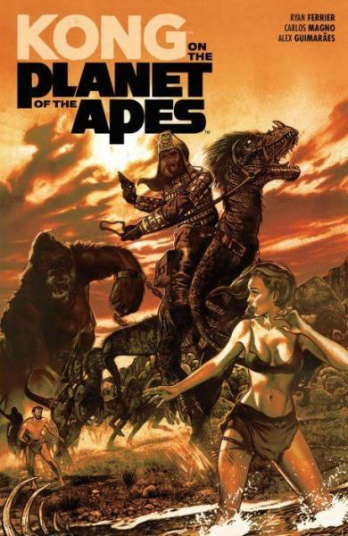 Kong on the Planet of the Apes INT 1 Kong on the Planet of the Apes
