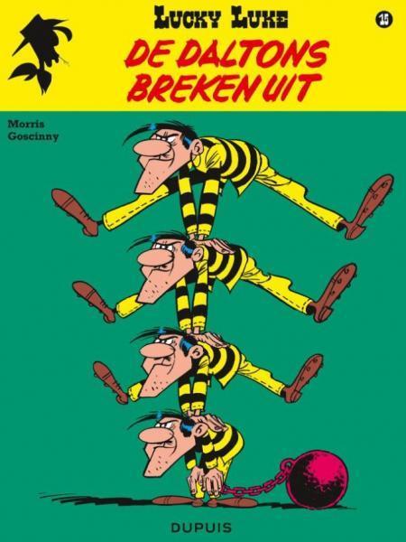 Lucky Luke (Nieuw uiterlijk - Dupuis/Lucky Comics) 15 De Daltons breken uit