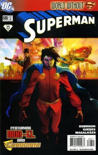 superman temp - te verplaatsen naar hoofdreeks 686 Yesterday and Tomorrow