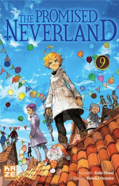 The Promised Neverland 9 Tome 9