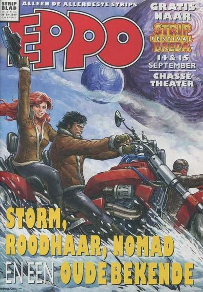 Eppo - Stripblad 2019 (Jaargang 11) 18 Nummer 18