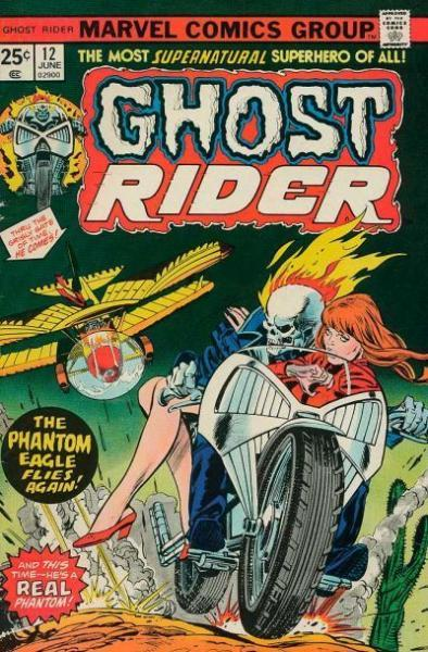 Ghost Rider A12 Phantom of the Killer Skies