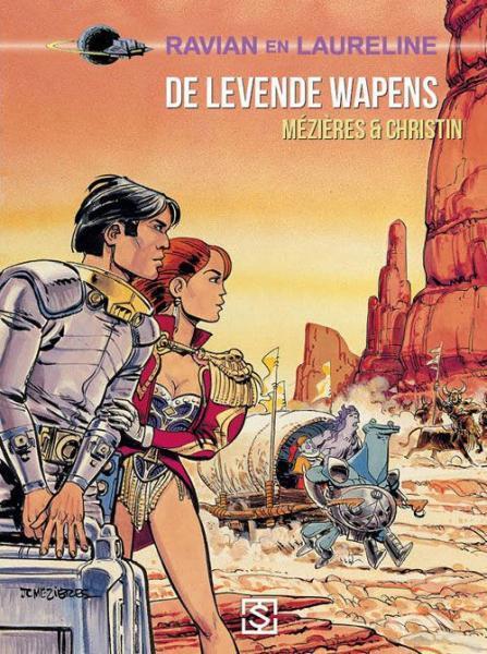 Ravian en Laureline (Sherpa) 14 De levende wapens