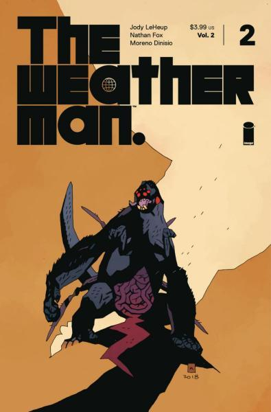 The Weatherman A2 Issue #2