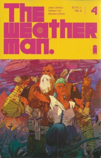 The Weatherman A4 Issue #4