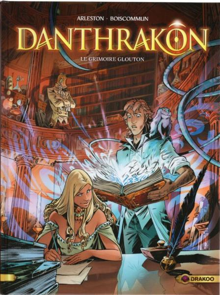 Danthrakon 1 Le grimoire glouton