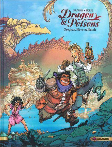 Dragon & Poisons 1 Greyson, Névo et Natch