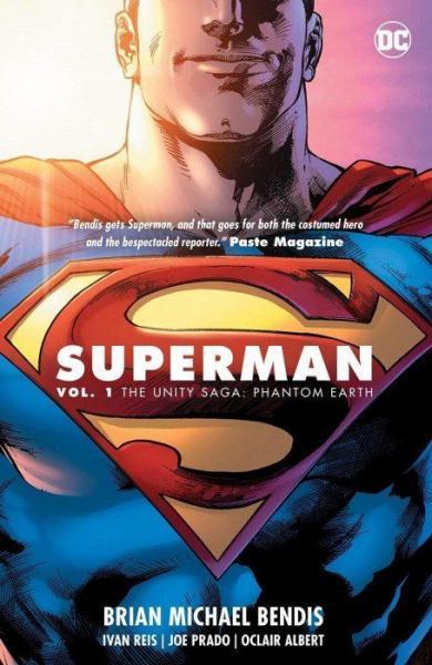 Superman INT D1 The Unity Saga: Phantom Earth