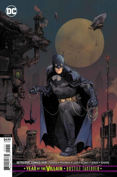 Detective Comics B1015 Cold Dark World: Icebreaker