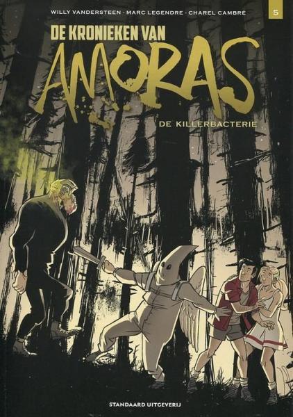De kronieken van Amoras 5 De killerbacterie