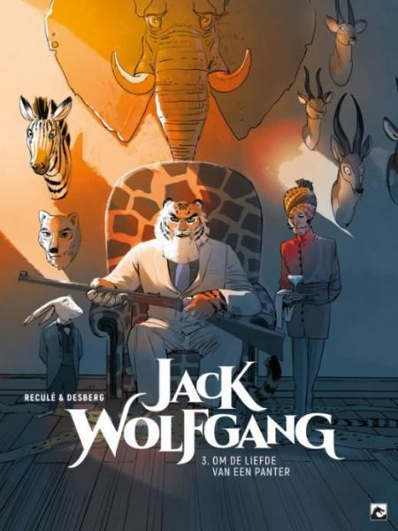 Jack Wolfgang 3 Om de liefde van een panter