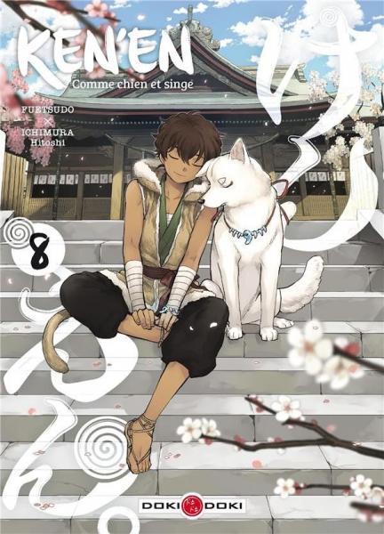 Ken'en - Comme chien et singe 8 Tome 8