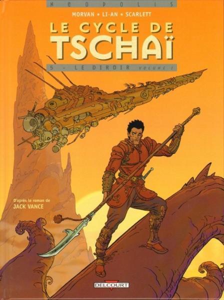 Tschai - De waanzinnige planeet 5 Le Dirdir volume I