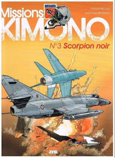 Code Kimono 3 Scorpion noir