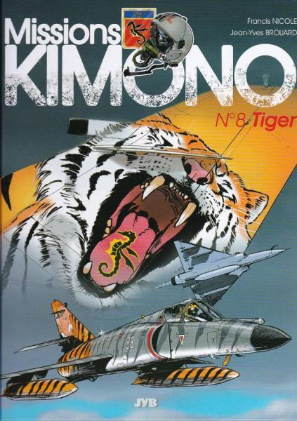 Code Kimono 8 Tiger