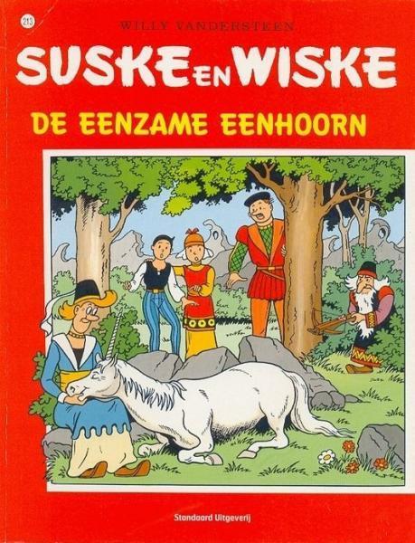 Suske en Wiske 213 De eenzame eenhoorn