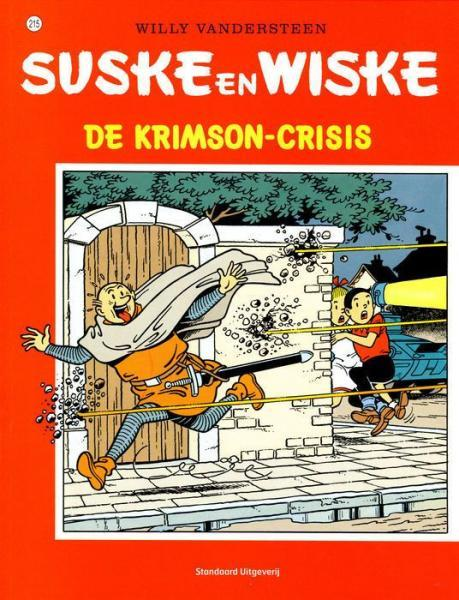 Suske en Wiske 215 De Krimson-crisis