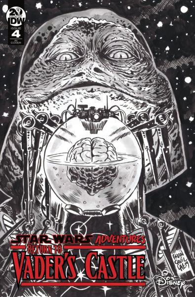 Star Wars Adventures: Return To Vader's Castle 4 Vault of the Living Brains