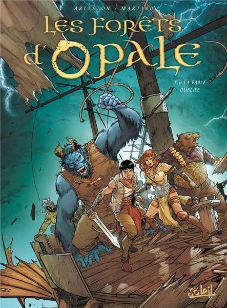 De wouden van Opaal 11 La fable oubliée