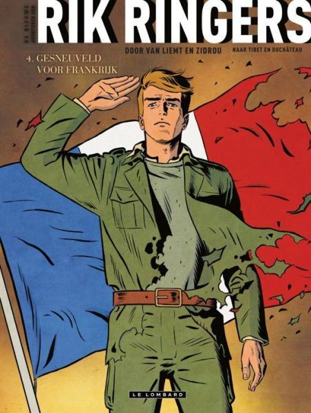 Rik Ringers - De nieuwe avonturen 4 Gesneuveld voor Frankrijk