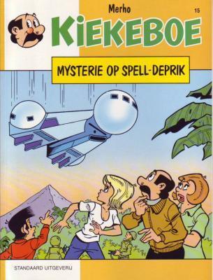 De Kiekeboes 15 Mysterie op Spell-Deprik