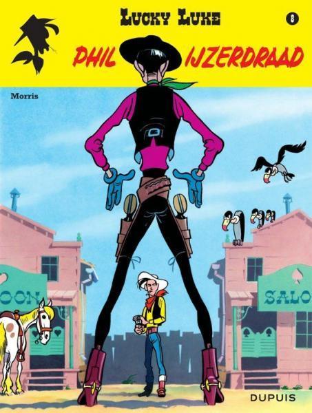 Lucky Luke (Lucky Comics, hernummering) 8 Phil IJzerdraad