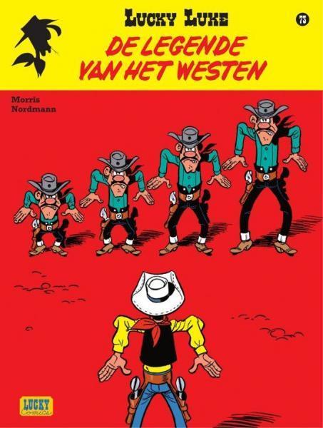 Lucky Luke (Lucky Comics, hernummering) 73 De legende van het Westen