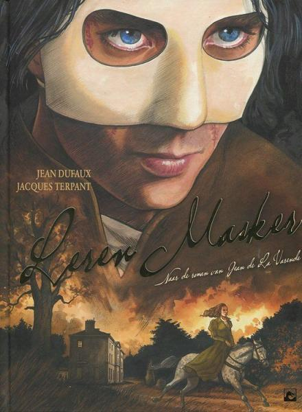 Leren masker 1 Leren masker