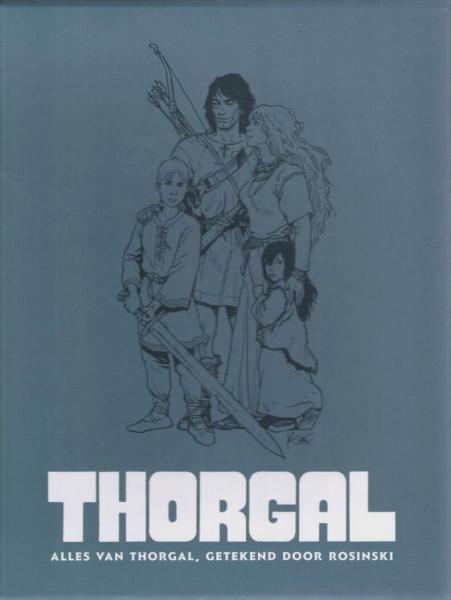 Thorgal INT G BOX6 Alles van Thorgal, getekend door Rosinski