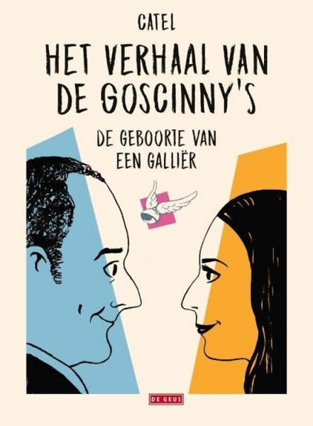 Het verhaal van de Goscinny's 1 De geboorte van een Galliër