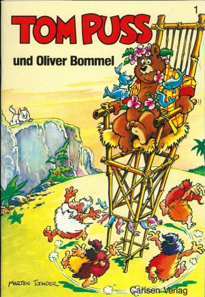 Tom Puss (Carlsen) 1 Tom Puss und Oliver Bommel