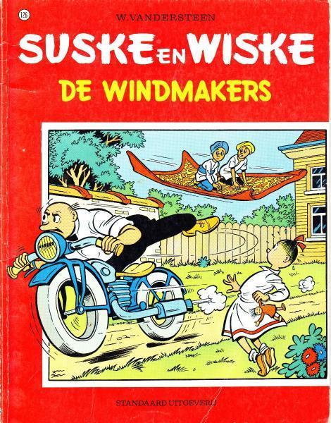 Suske en Wiske 126 De windmakers