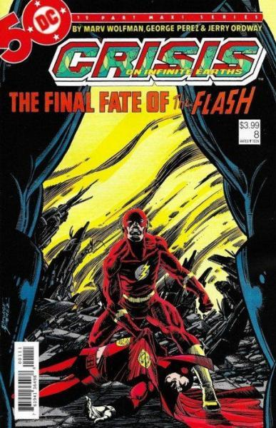 Crisis on Infinite Earths 8 A Flash of the Lightning!