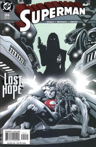 superman temp - te verplaatsen naar hoofdreeks A194 Secret Identity