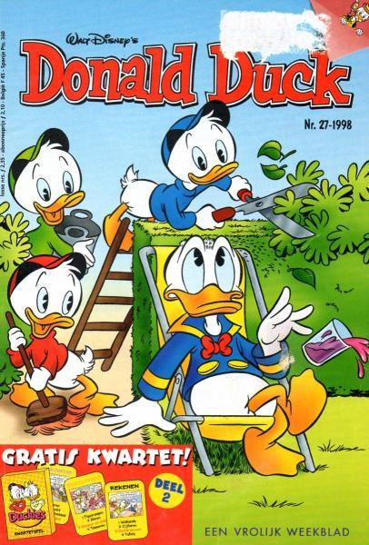 Donald Duck weekblad - 1998 (jaargang 47) 27 Nummer 27