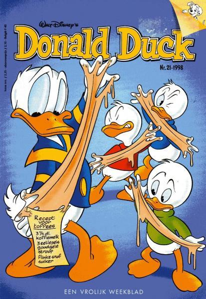 Donald Duck weekblad - 1998 (jaargang 47) 21 Nummer 21