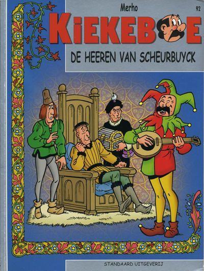 De Kiekeboes 92 De heeren van Scheurbuyck