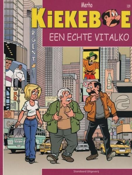 De Kiekeboes 109 Een echte Vitalko