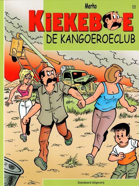 De Kiekeboes 121 De kangoeroeclub
