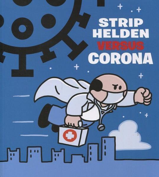Striphelden versus corona 1 Striphelden versus corona