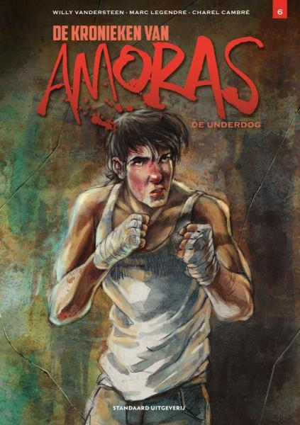 De kronieken van Amoras 6 De underdog