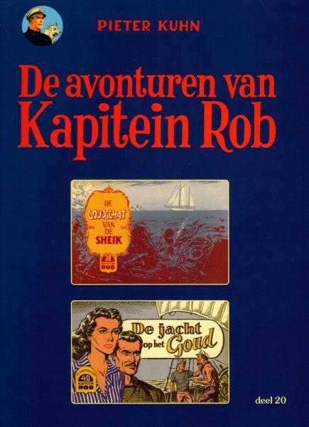 Kapitein Rob (Paul Rijperman) 20 De goudschat van de Sheik / De jacht op het goud