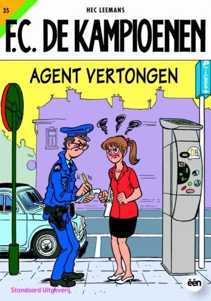 F.C. De Kampioenen 35 Agent Vertongen