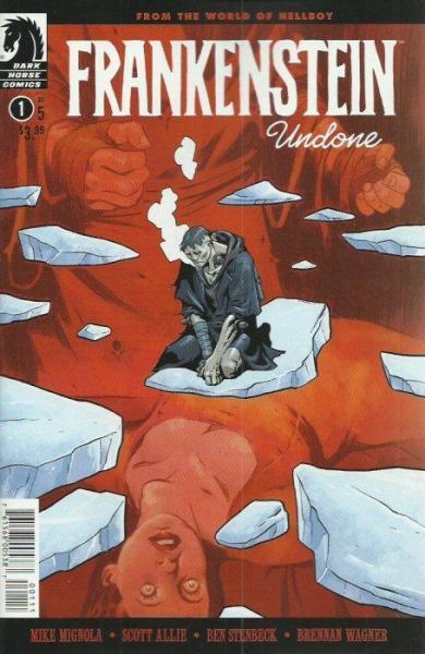Frankenstein Undone 1 Issue #1