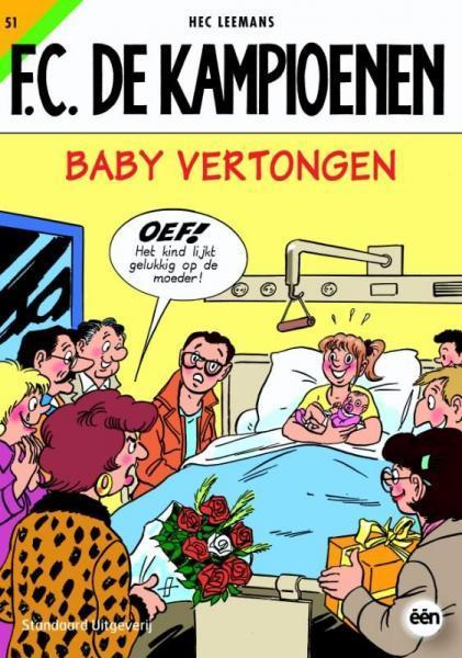 F.C. De Kampioenen 51 Baby Vertongen