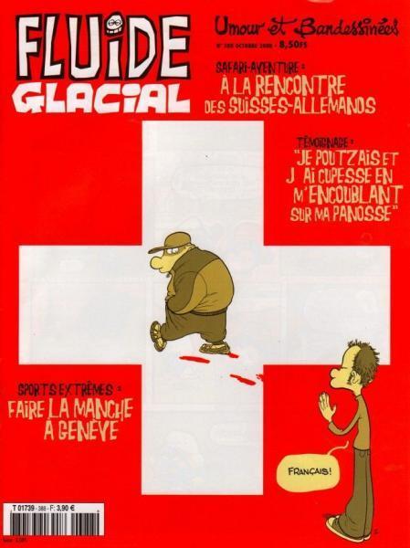 Fluide Glacial - Maandblad 2008 10bis Numéro 388 bis: Spécial Suisse